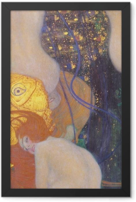 Poster en cadre Gustav Klimt - Poisson rouge - Reproductions