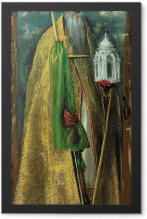 Poster en cadre Le Greco - Saint Augustine - Reproductions