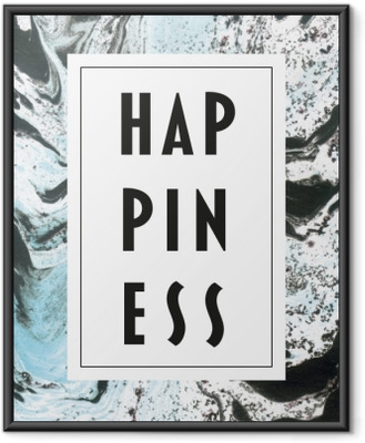Happiness Framed Poster