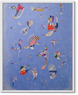 Wassily Kandinsky - Sky Blue Framed Picture