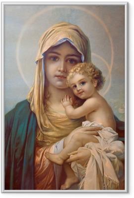 Madonna - Mother of God Framed Picture