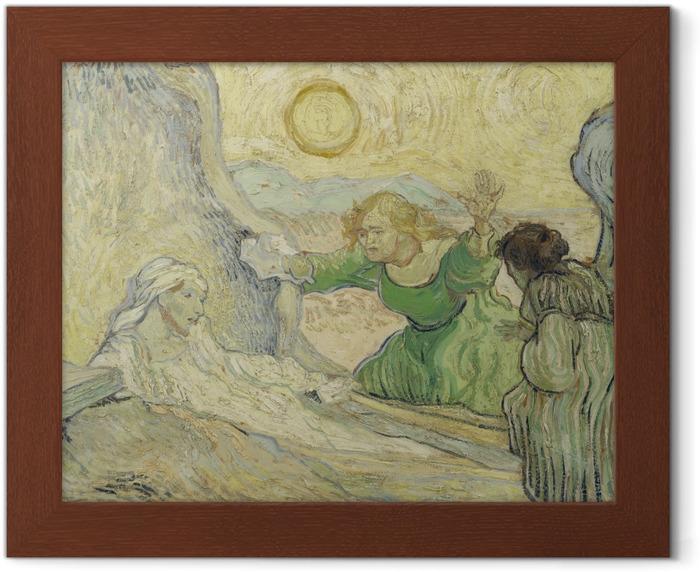 Poster in Cornice Vincent van Gogh - La resurrezione di Lazzaro - Reproductions