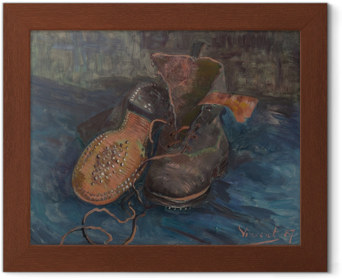 Vincent van Gogh - Shoes Framed Poster - Reproductions