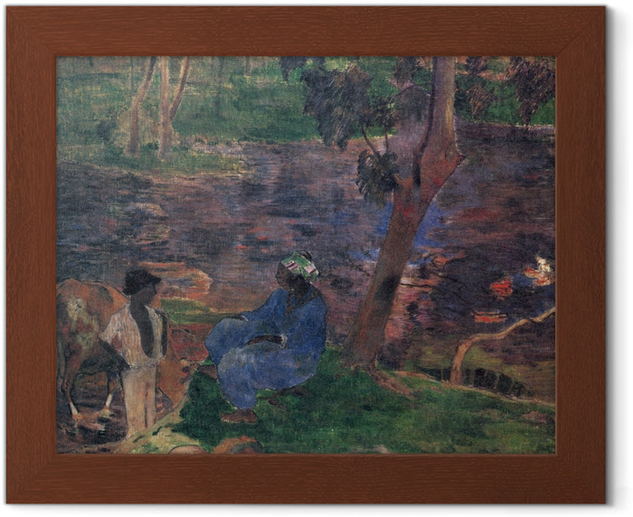 Paul Gauguin - Martinique Framed Poster - Reproductions
