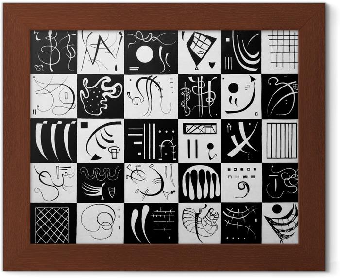 Poster in Cornice Vasilij Vasil'evič Kandinskij - Trenta - Riproduzioni