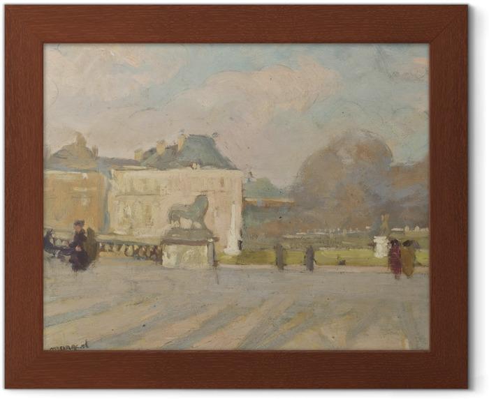 Poster en cadre Albert Marquet - Vue du Palais du Luxembourg - Reproductions
