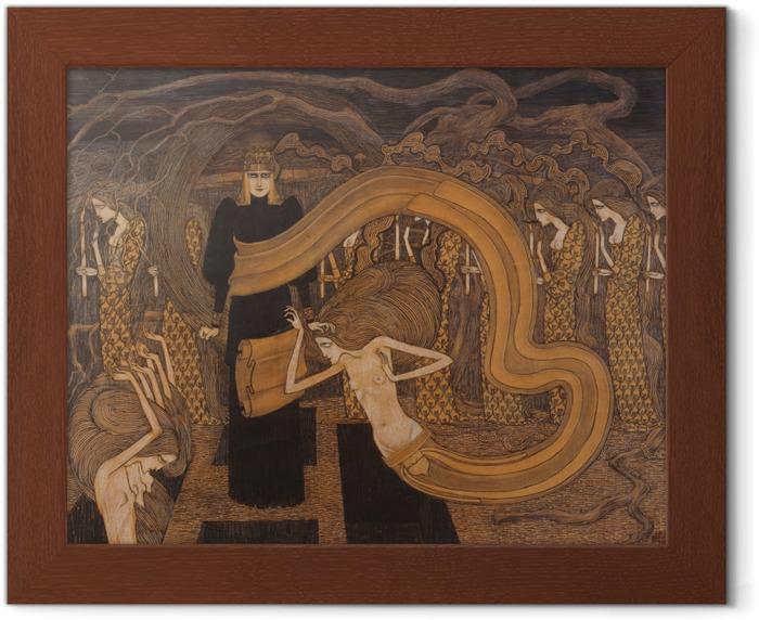 Çerçeveli Poster Jan Toorop - Fatalismo - Reproductions