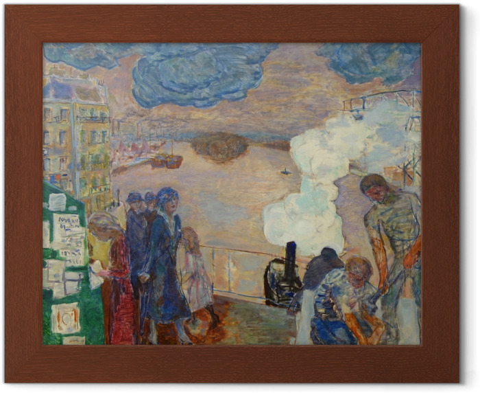 Pierre Bonnard - Workers Framed Poster - Reproductions