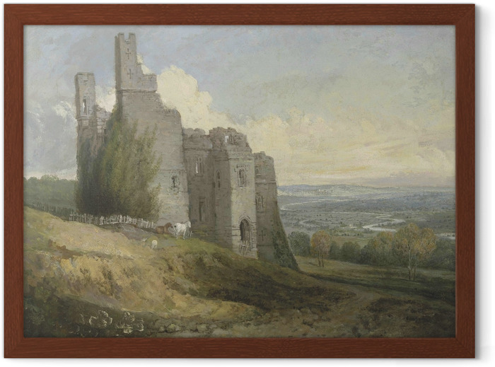 William Turner - Conway Castle Framed Poster - Reproductions