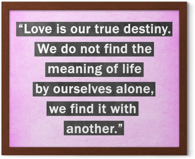 Inspirational quote words by Thomas Merton on pink background
