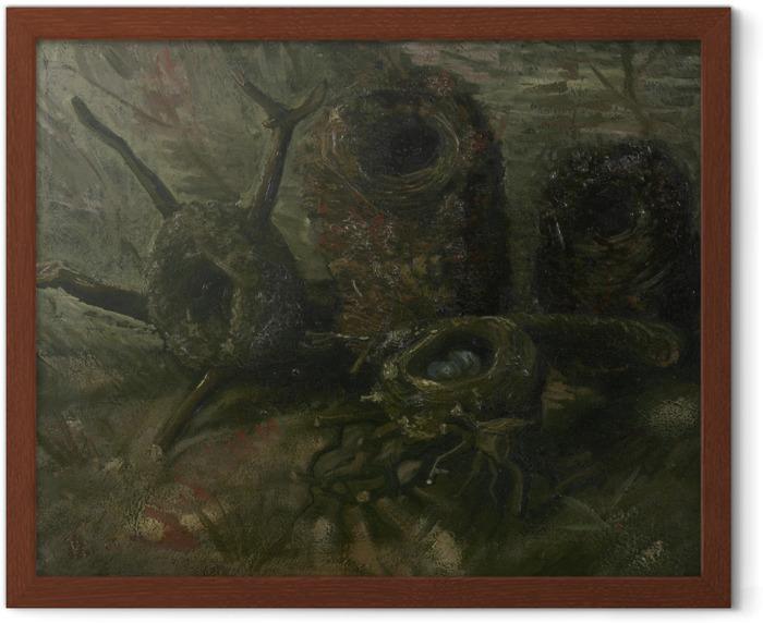 Poster in Cornice Vincent van Gogh - Nidi di uccelli - Reproductions