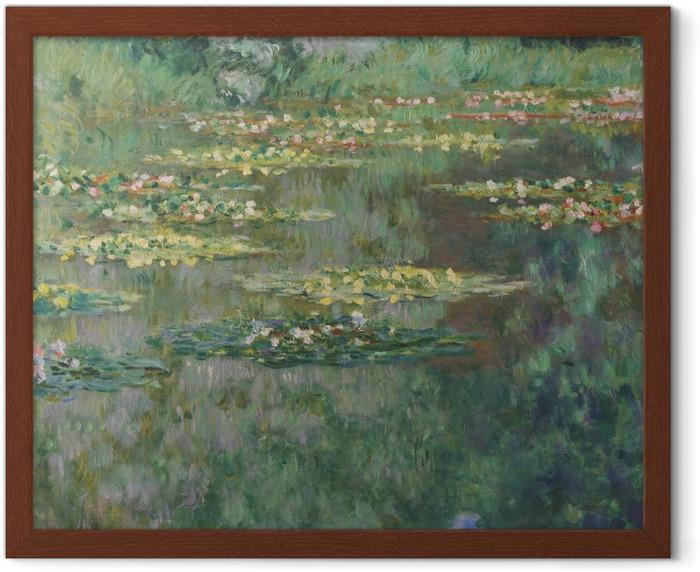 Póster Enmarcado Claude Monet - Nympheas - Reproducciones