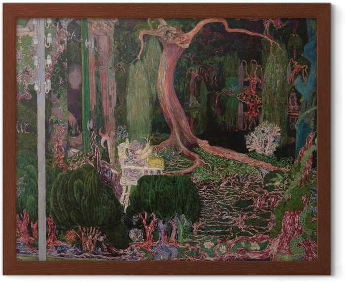 Jan Toorop - The New Generation Framed Poster - Reproductions