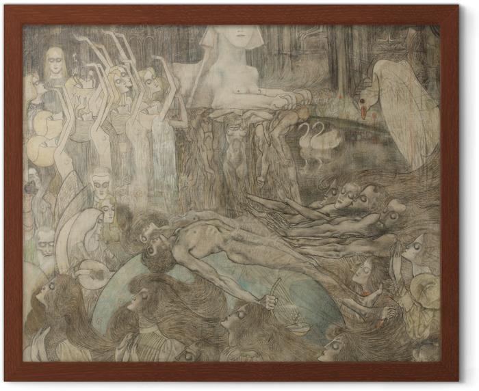 Jan Toorop - Sphinx Framed Poster - Reproductions