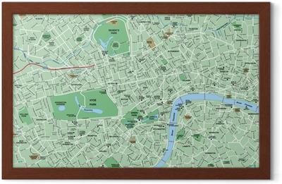 Map Downtown London.Downtown London Map