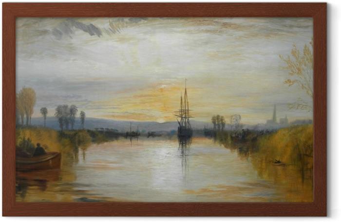 Póster Enmarcado William Turner - Canal de Chichester - Reproducciones