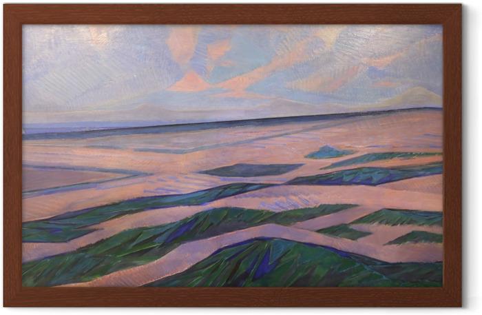 Poster en cadre Piet Mondrian - Dune - Reproductions