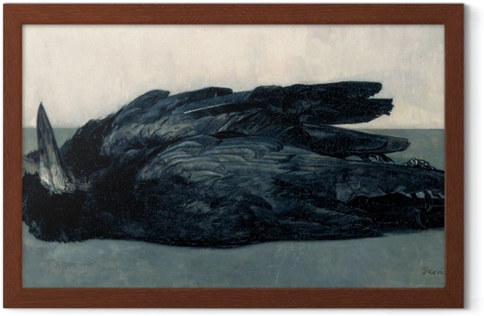Floris Verster - Two Dead Rooks Framed Poster - Reproductions