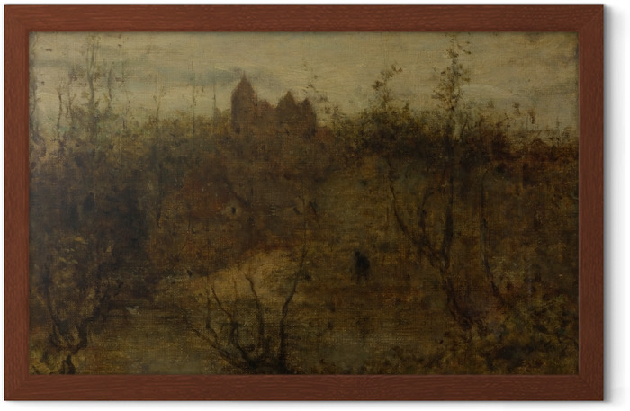 Matthijs Maris - The Enchanted Castle Framed Poster - Reproductions
