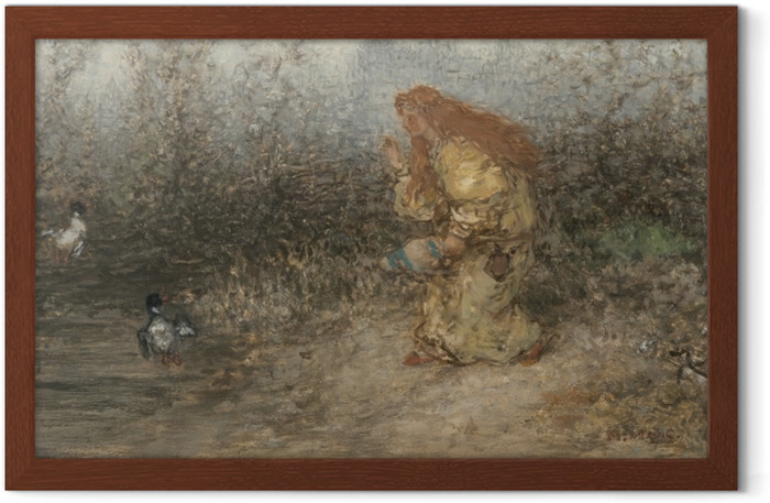 Matthijs Maris - Fairy Tale Framed Poster - Reproductions