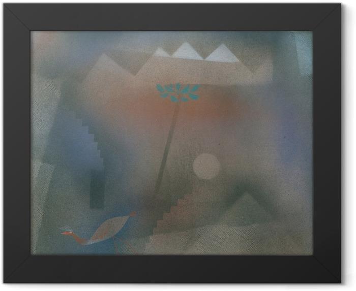 Poster en cadre Paul Klee - Oiseau vagabonder - Reproductions