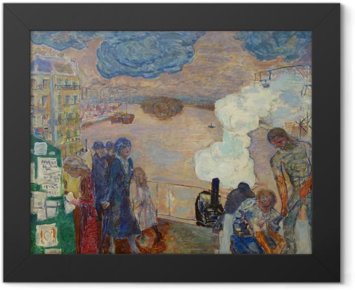 Gerahmtes Poster Pierre Bonnard - Arbeiter - Reproductions