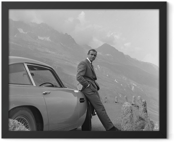 James Bond Framed Poster - Themes
