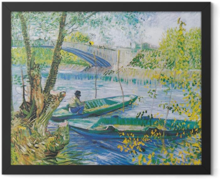 Poster en cadre Vincent van Gogh - À la porte de l'éternité - Reproductions
