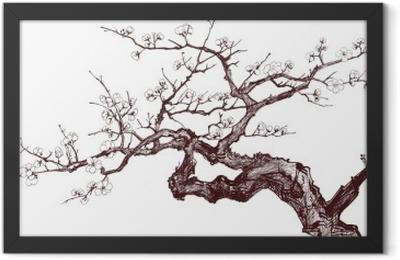Cherry Tree Framed Poster
