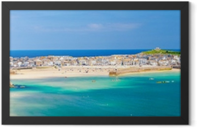 St Ives Cornwall England UK Framed Poster