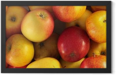 Äpfel Framed Poster