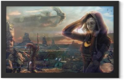 Mass Effect Framed Poster