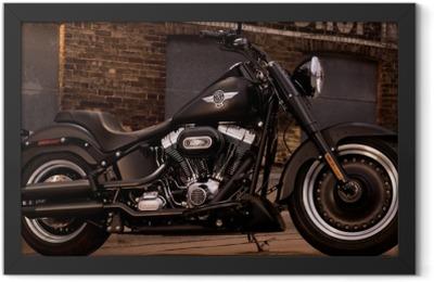 Harley Davidson Framed Poster