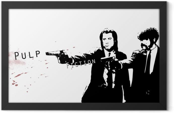 Pulp Fiction Framed Poster - Criteo