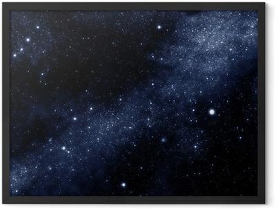 starfield Framed Poster