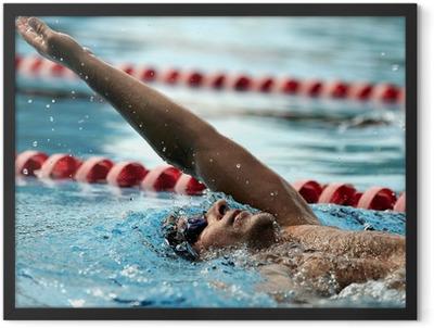 Swimming - sport Framed Poster