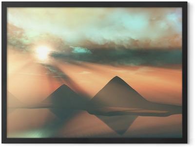 Along the Nile Framed Poster