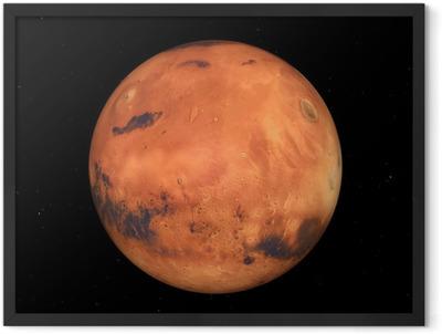 Der Mars Framed Poster
