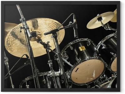 Schlagzeug Framed Poster