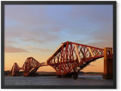 The Forth Rail Bridge Framed Poster