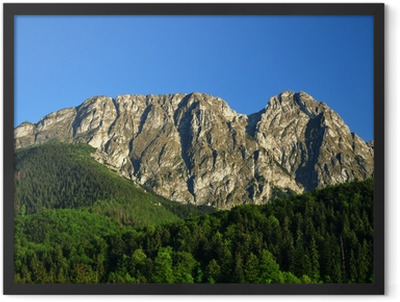Tatra mountains Giewont Framed Poster