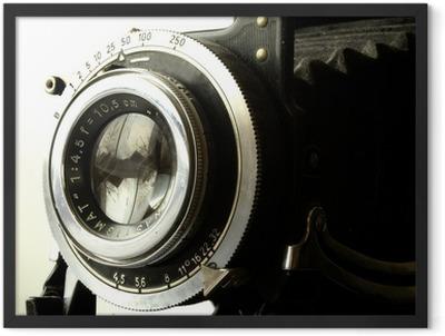 antique camera Framed Poster