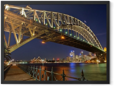 Sydney Harbour Bridge 2 Framed Poster
