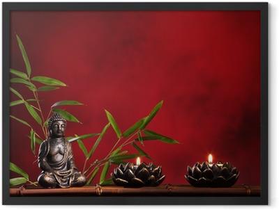 Zen concept Framed Poster