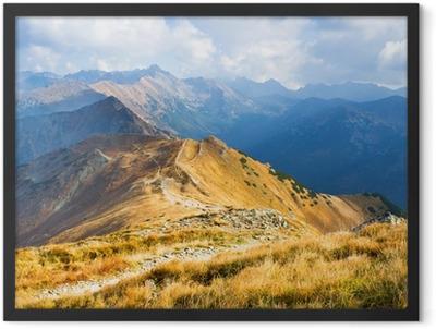 Czerwone Wierchy, Tatra Mountains, Poland Framed Poster