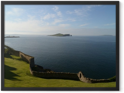 Howth panorama Framed Poster