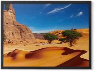 Sahara Desert, Algeria Framed Poster
