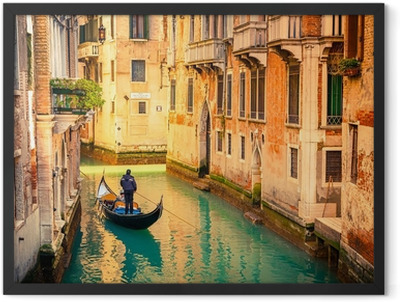Canal in Venice Framed Poster