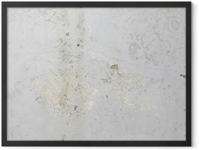 Texture concrete wall Framed Poster