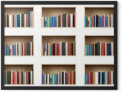 Books Framed Poster